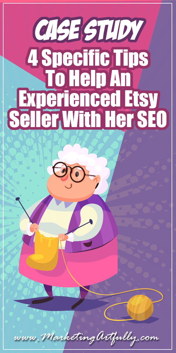 If you are an experienced Etsy seller and your views & sales are down and you just want something specific to work on, this is the Etsy SEO post for you!
