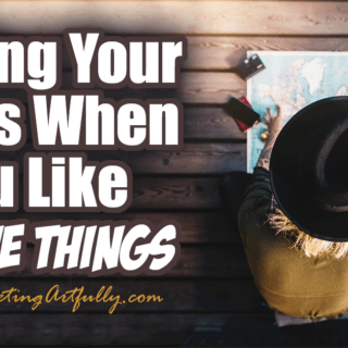 Finding Your Focus When You Like All The Things ... Have you been told (more than once) you need to find focus in your business? It may be easier than you think!