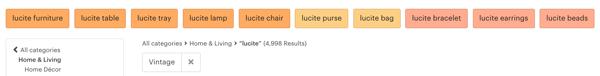 Lucite Search