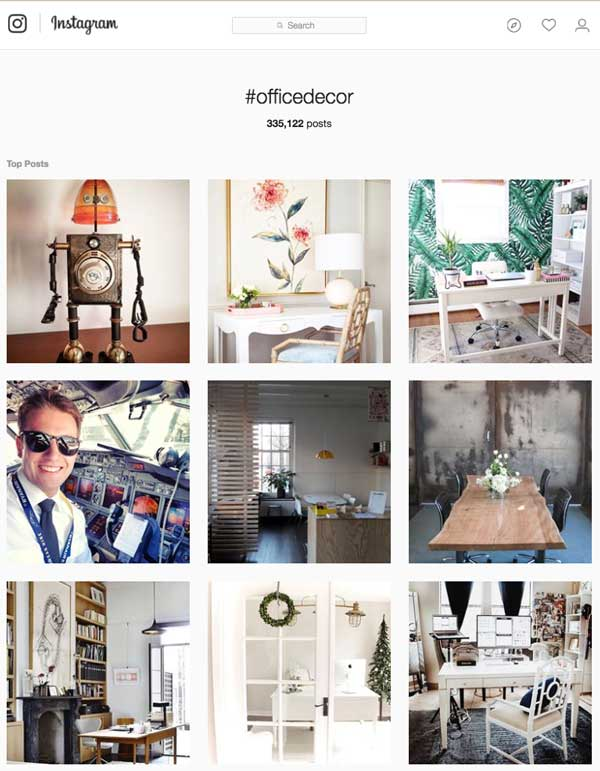 Instagram hashtags tips ideas for creatives and for Decor hashtags