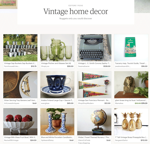 Deconstructing The Etsy Vintage Seller Newsletter