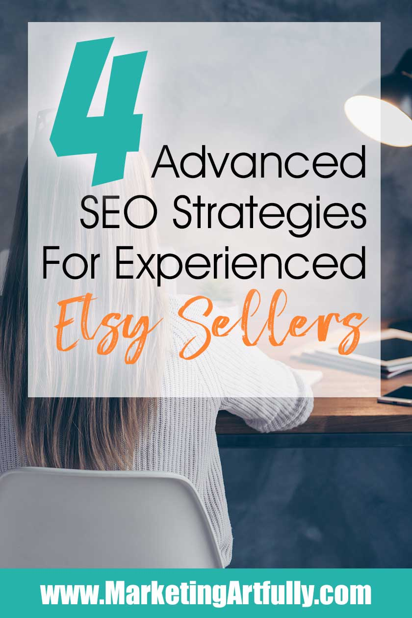 4 Advanced SEO Strategies For Experienced Etsy Sellers... This case study walks through 4 concrete Etsy SEO tips and ideas for increasing shop sales.