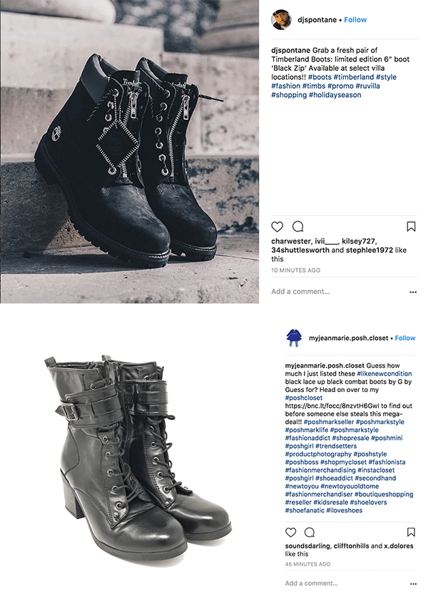 Cool boot product photography