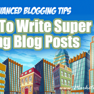 How To Write Super Long, Skyscraper Blog Posts ... Advanced Blogging Tips. I have some super simple tips for how to write long blog posts without devoting half you life to writing! Write faster and save time!