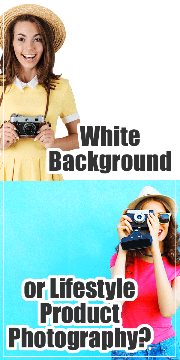 Today is going to be a hot one! If you are doing product photography should you have plain-jane white backgrounds like on Amazon or should you have lifestyle styled photos?