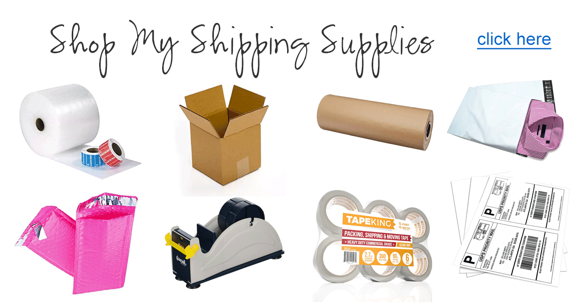 Shop My Etsy Shipping Supplies