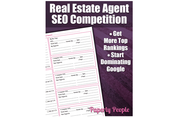 Real Estate SEO Competition