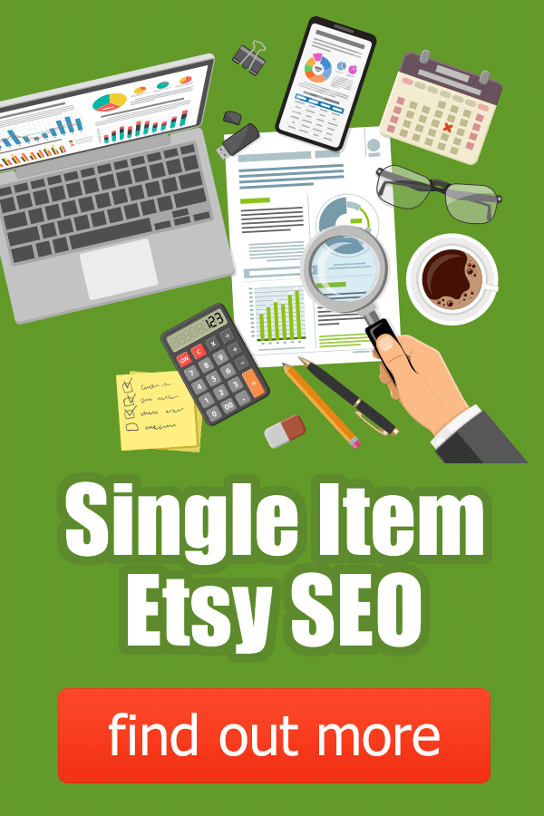 Etsy Single Item SEO