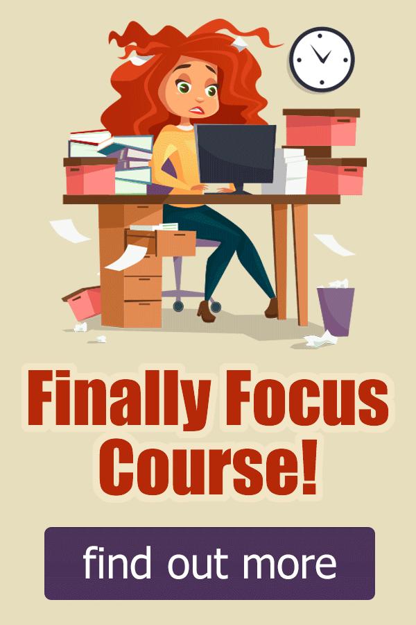 Finally Focus Course
