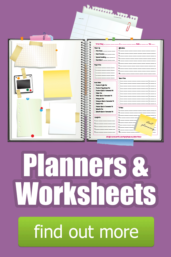 Paperly People Planners & Worksheets