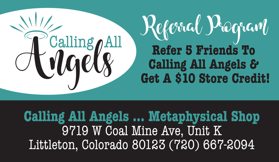 Referral Card - Calling All Angels