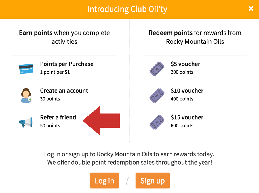 Rocky Mountain Oils Referral Program