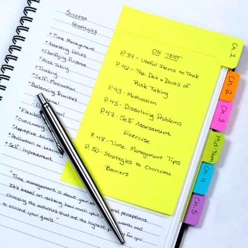 Tab Sticky Notes