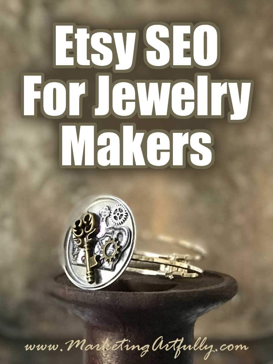 Etsy SEO For Jewelry Makers...As a handmade jewelry seller on Etsy you know the competition is fierce! Having the right Etsy SEO including keywords in your listing and tags is the only way you are going stand out in the sea of other products on there!