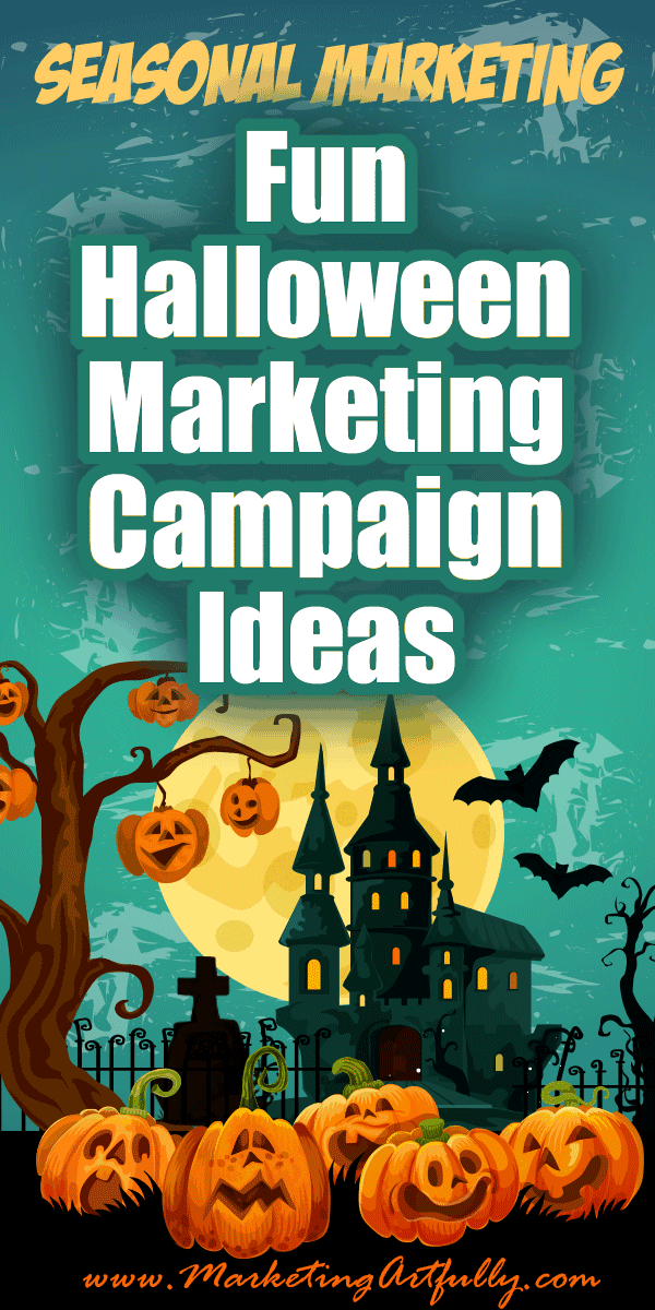 Fun Halloween Marketing Campaign Ideas - Seasonal Marketing.. Doing a Halloween marketing campaign? Here are my best tips and ideas for how to promote your business or products during the Halloween seasonal holiday! make sure to snag the free seasonal holiday printable
