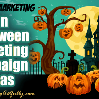 Doing a Halloween marketing campaign? Here are my best tips and ideas for how to promote your business or products during the Halloween seasonal holiday! make sure to snag the free seasonal holiday printable