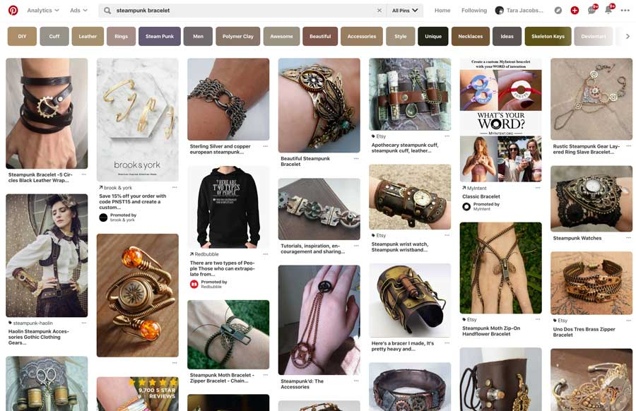 Steampunk Bracelet Search On Pinterest