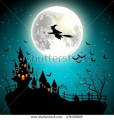 Shutterstock Witch Vector File