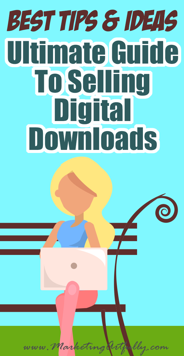 Ultimate Guide To Selling Digital Downloads - Tips and Ideas For How To Add Printables To Your Business... Since I started selling digital downloads on Etsy I have made 100s of dollars a month! Here are all my best tips and ideas for how to create printables to sell online that will help add other products to add passive income to your business!