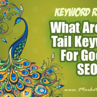 What Are Long Tail Keywords For Google SEO? Blogging Tips & Advice... You probably got into blogging because you love writing or taking pictures or connecting with a tribe. Hardly anyone says they got into blogging because they love SEO (except for me!) Here are all my best tips, ideas and & advice for understanding long tail SEO keywords for Google.