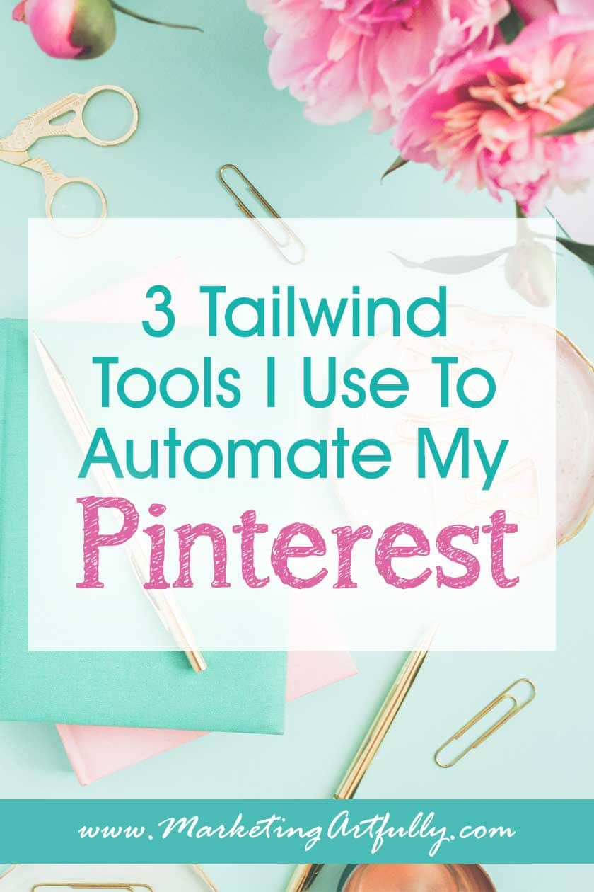 Tailwind for Pinterest is the perfect tool if you want to grow your blog or Etsy store traffic and get more views. All my best tips and ideas for using Tailwind for blogging & Etsy.