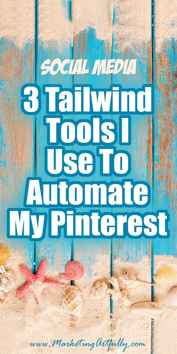 3 Tailwind Tools I Use To Automate My Pinterest... How to use Tailwind Tribes, Scheduling & Looping to make your Pinterest Marketing strategy more effective and easy. Use these tools to help grow your blog or Etsy shop!