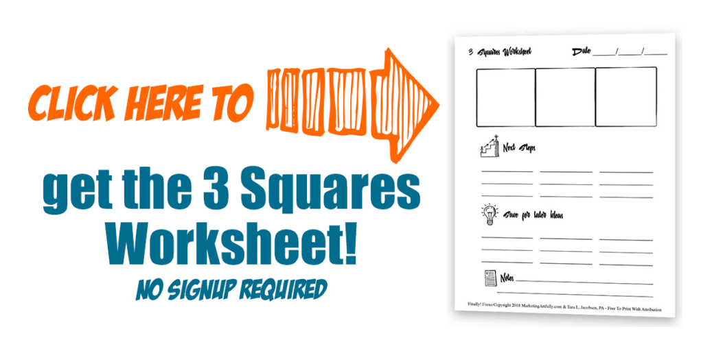 Click Here To Download The 3 Squares Worksheet