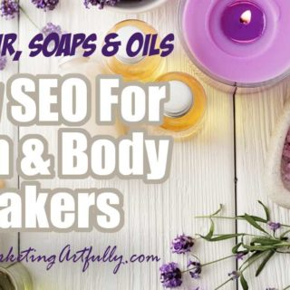 Etsy SEO For Bath and Body Makers... Skin, Hair, Soaps & Oils Tips and ideas for how to research Etsy SEO keywords for handmade bath and beauty makers. Learn how to get more visitors to your Etsy shop! #etsyseo #etsyseller
