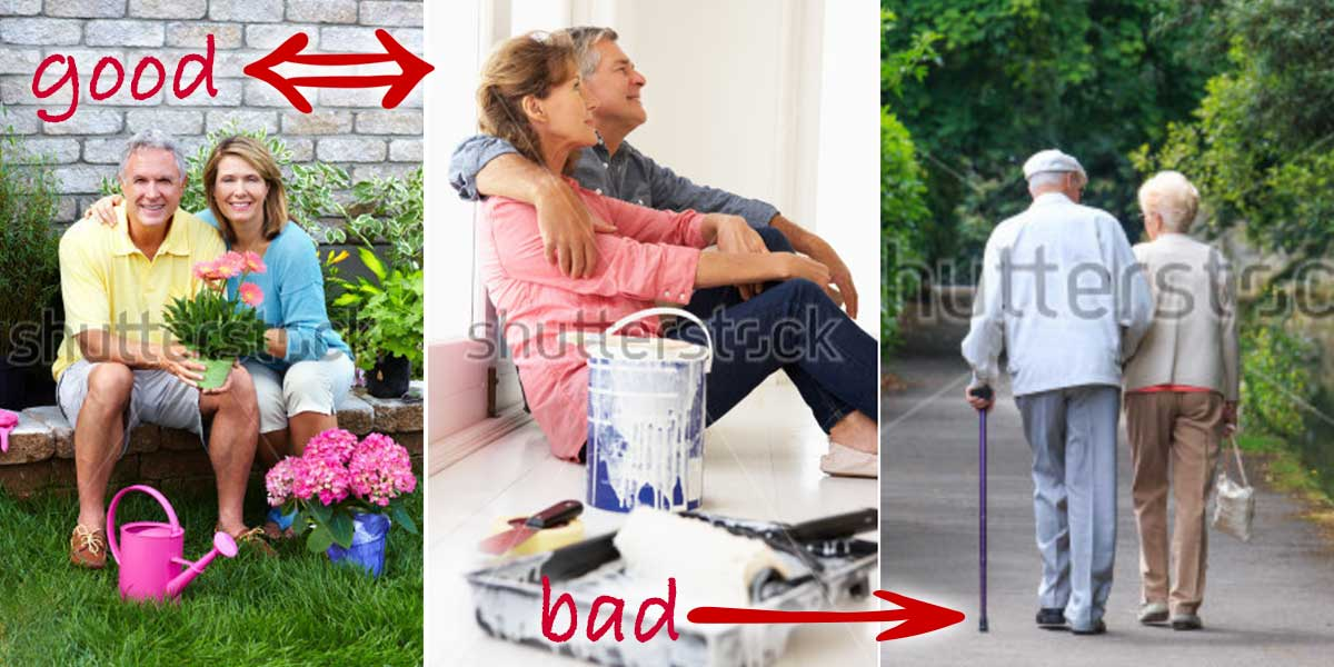 Older Couple Photography Examples