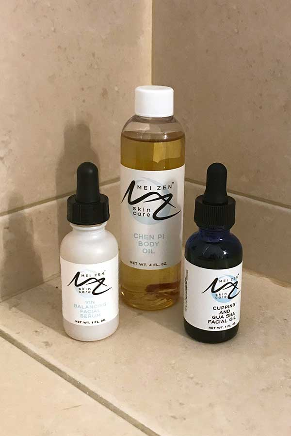 Bath and Beauty Product Photography after lightening and crop