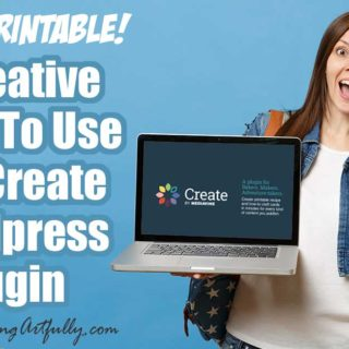 "5 Creative Ways To Use The Create Wordpress Plugin In Your Marketing (Includes Bonus Printable!) This FREE Wordpress plugin can help with so many different marketing challenges including offering a super easy content upgrade, selling your products, promoting affiliate offers and helping your readers! Includes tips and ideas for any blogger who writes ""how to"" posts!"