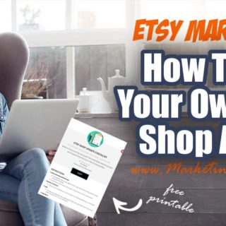 How To Do Your Own Etsy Shop Audit.. Tips and ideas for how to update and optimize our Etsy shop. Free printable checklist walks Etsy Sellers step by step through the process! #etsyshop #etsyseller