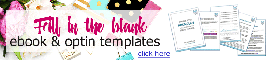 Fill In The Black Email Optin Templates Banner