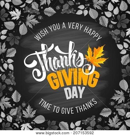 Modern Thanksgiving Image