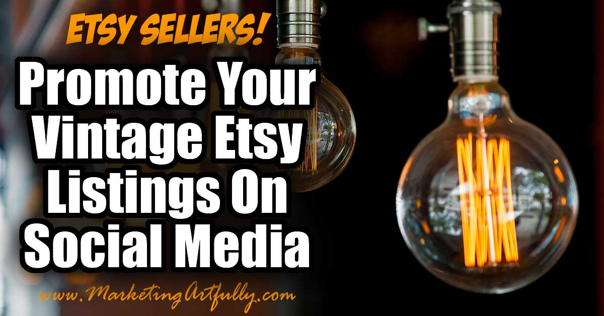 photo relating to Etsy Printable known as How In direction of Encourage Your Basic Etsy Listings Upon Social Media