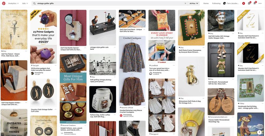 Vintage Golfer Gifts Pinterest Search