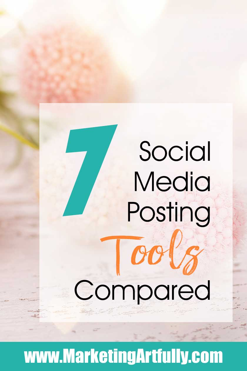 I will be reviewing my top 7 social media scheduling tools and giving you my best tips and tricks for picking a good one for your small business! Taking a couple of minutes to think about your strategy before picking one could save you hours or days of work later.