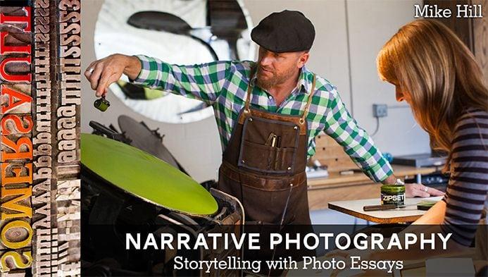 Narrative Photography Course Banner