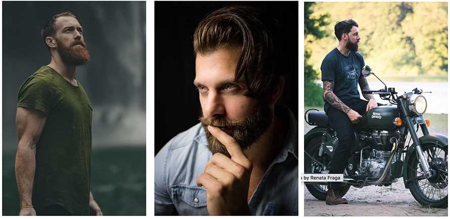 Three Bearded Men