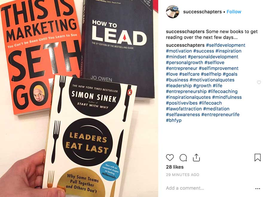 Instagram Post About Leadership