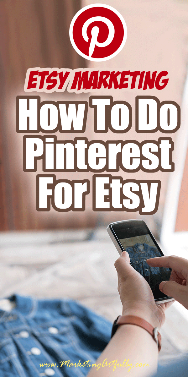 Doing Pinterest For Etsy Sellers…. There are so many parts of doing Pinterest for Etsy sellers! Here are all my tips and ideas for adding this awesome social media channel to your Etsy small business.