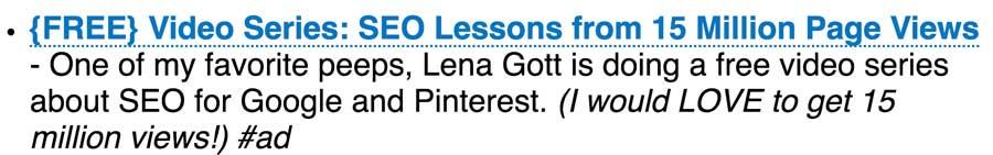 Free Video Lesson Trainings