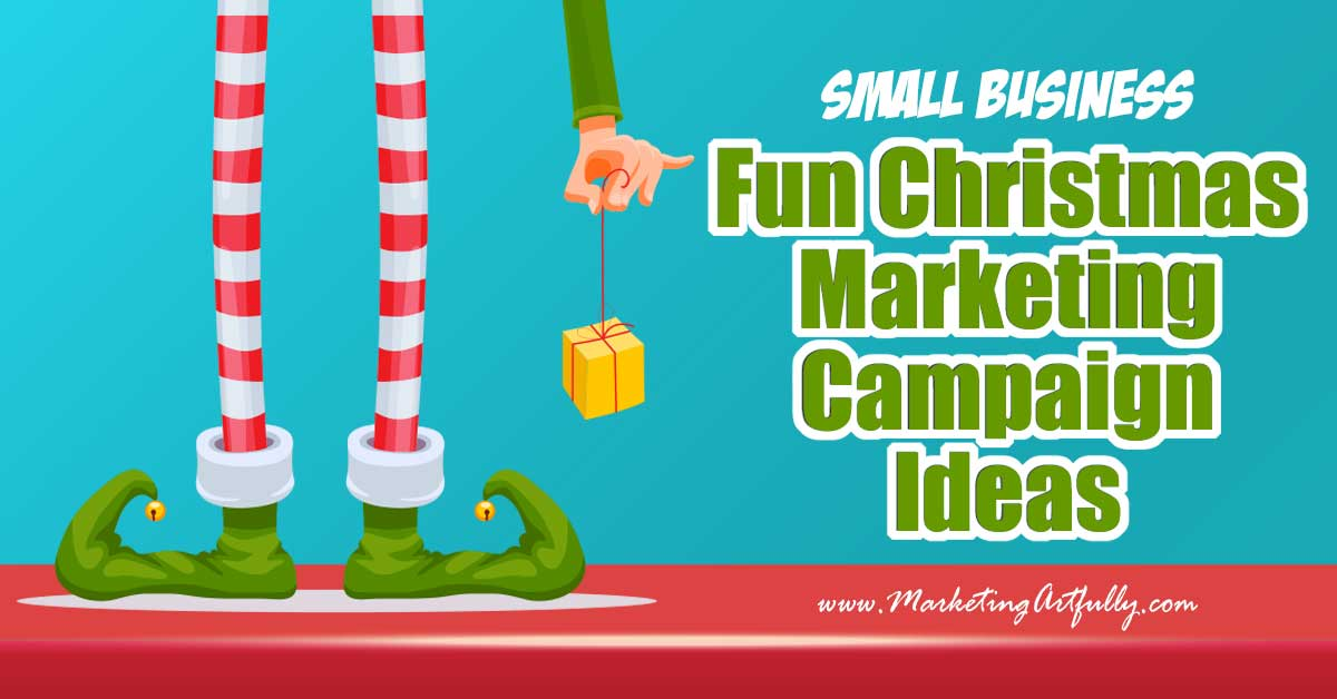 Fun Christmas Marketing Campaign Tips & Ideas... Doing a Christmas marketing campaign? Here are my best tips and ideas for how to promote your business or products during the holiday season! make sure to snag the free seasonal holiday printable included in this post!