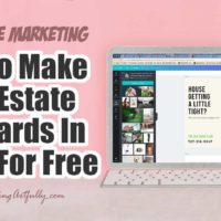 How To Make Real Estate Postcards In Canva For Free