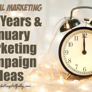 Fun New Years and January Marketing Campaign Ideas… All of my best tips and ideas for a rocking New Years or January marketing campaign! Small business marketing ideas including themes, graphics, social media posts and content ideas to get your creative juices flowing.