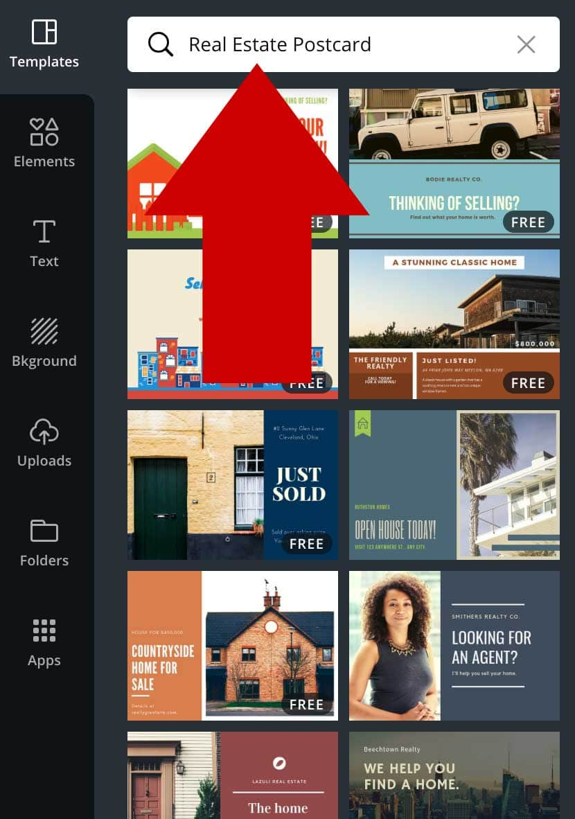 How To Make Real Estate Postcards In Canva For Free Marketing Artfully