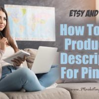 How To Write Product Pin Descriptions for Etsy and Shopify
