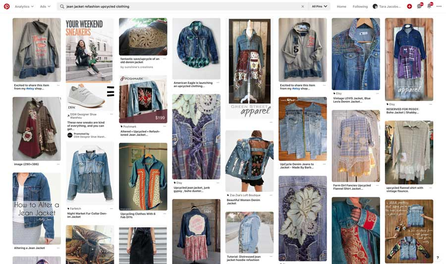 Upcycled Clothing Search On Pinterest