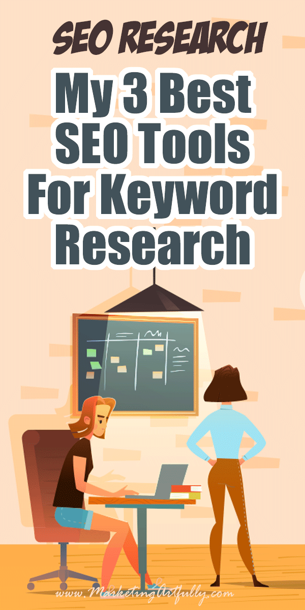 My 3 Best SEO Tools For Keyword Research... Understanding SEO is vital for bloggers. After obsessing about keywords for years, I have found 3 great tools and have some marketing tips for how to read and process the data for your WordPress blog or website! Includes Google Search Console, Keyword Hero and Serpstat.