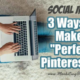 "3 Ways To Make A ""Perfect"" Pinterest Pin ... Tips and ideas for how to create the best Pinterest pins! My top 3 ways for figuring out what Pinterest thinks would be a perfect pin for your blog, product or service.  #pinterest #marketing"